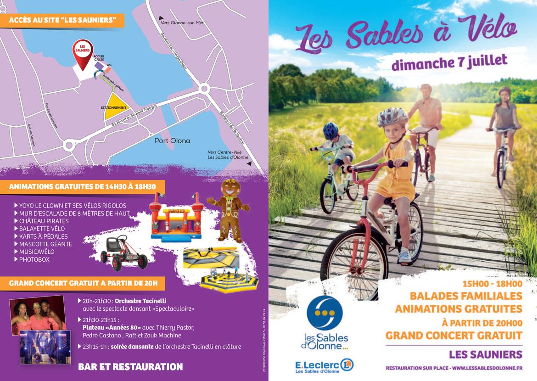 Les Sables À Vélo - Les Sables D'olonne : La Ville Du Vendée ... encequiconcerne Leclerc Piscine Gonflable