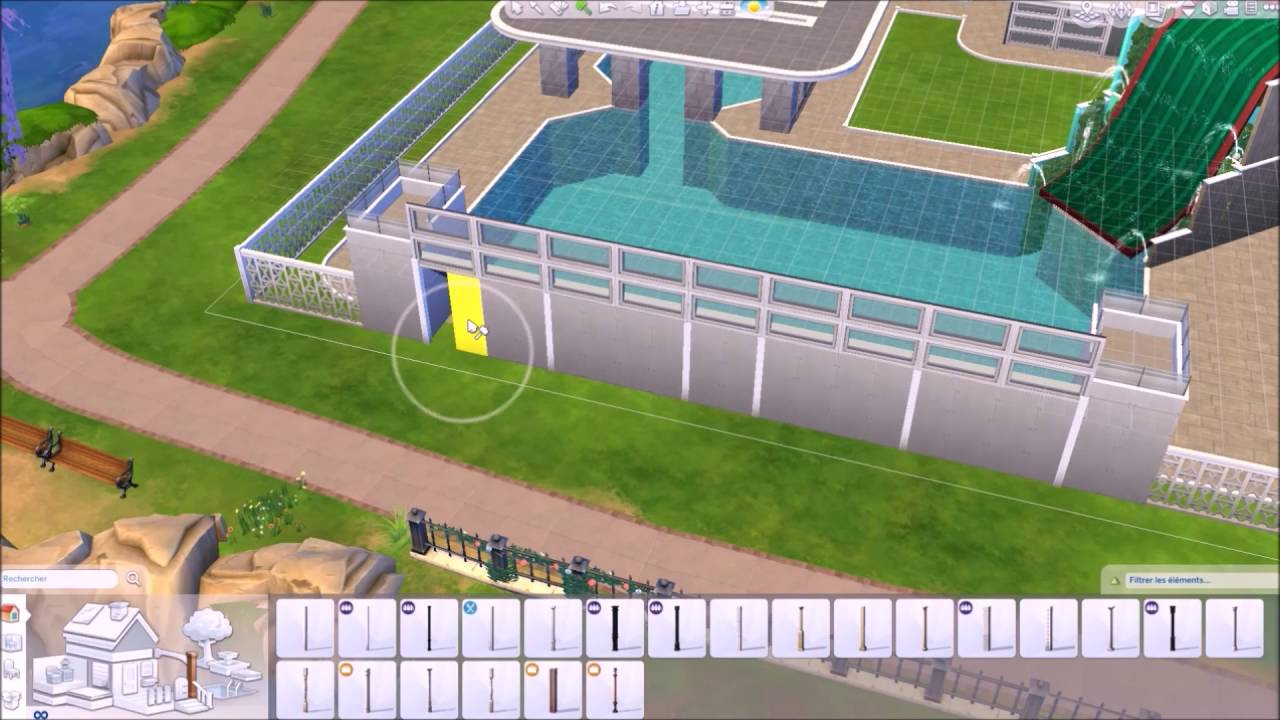 Les Sims 4 - Construction Piscine Municipale serapportantà Autoconstruction Piscine