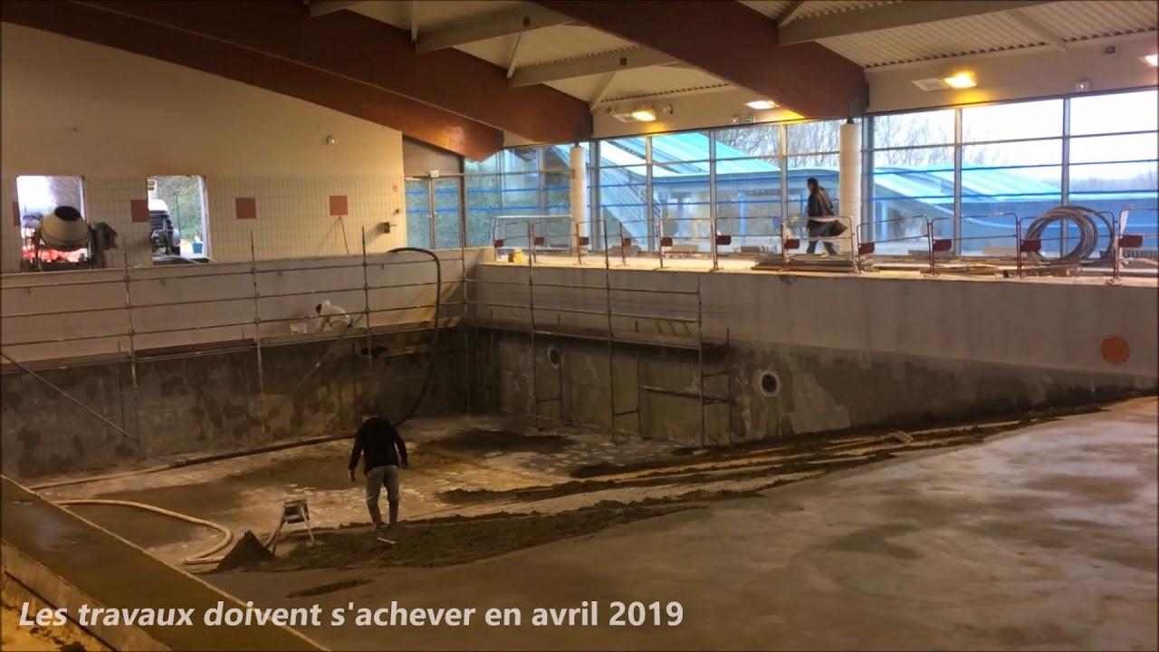 Les Travaux Vont Bon Train À La Piscine De Vire Normandie dedans Piscine Vire