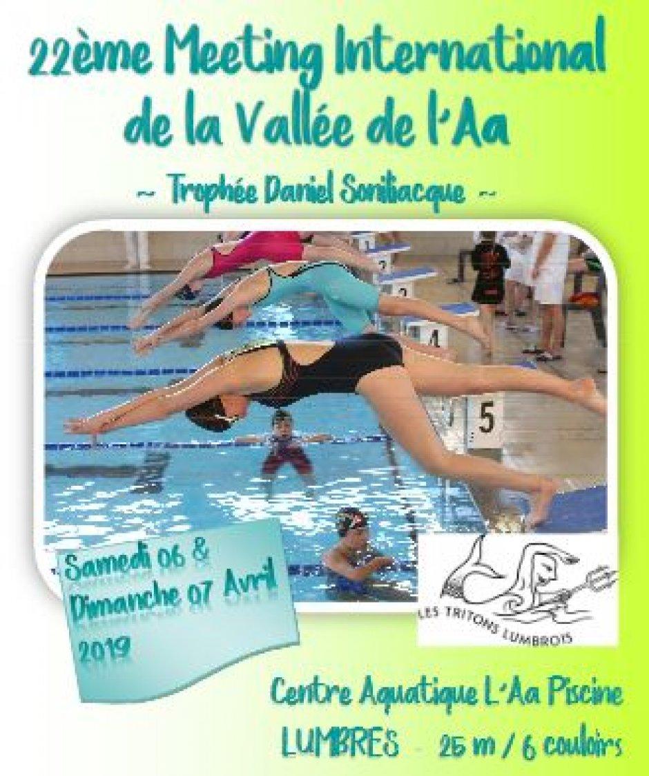 Les Tritons Lumbrois - Meeting International De La Vallée De ... intérieur Piscine De Lumbres