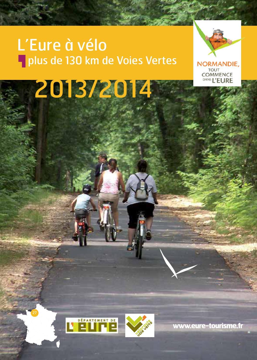 L'eure À Vélo 2013 2014 By Eure Tourisme - Issuu concernant Piscine Evreux Jean Bouin