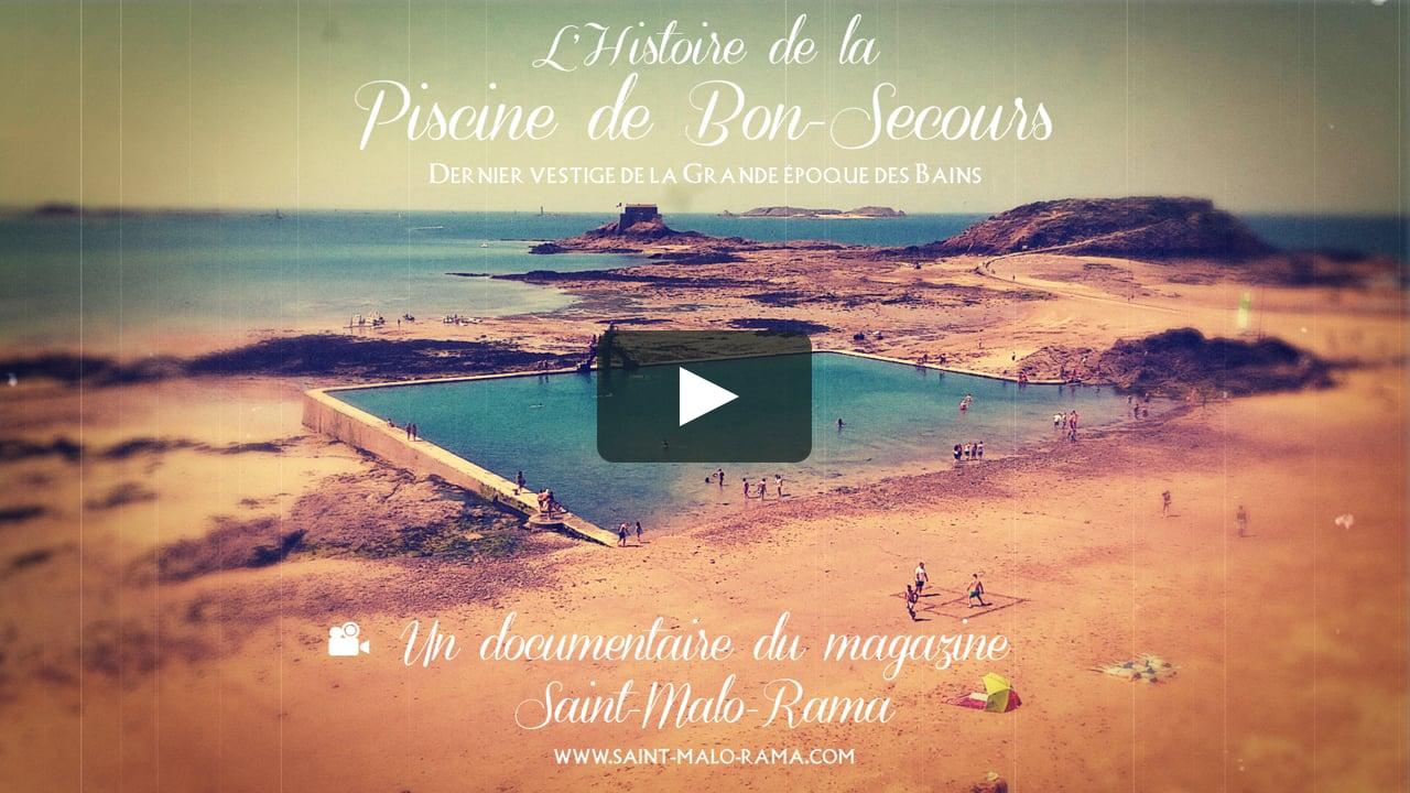L'histoire De La Piscine De Bon Secours, Dernier Vestige De La Grande  Époque Des Bains dedans Piscine St Malo