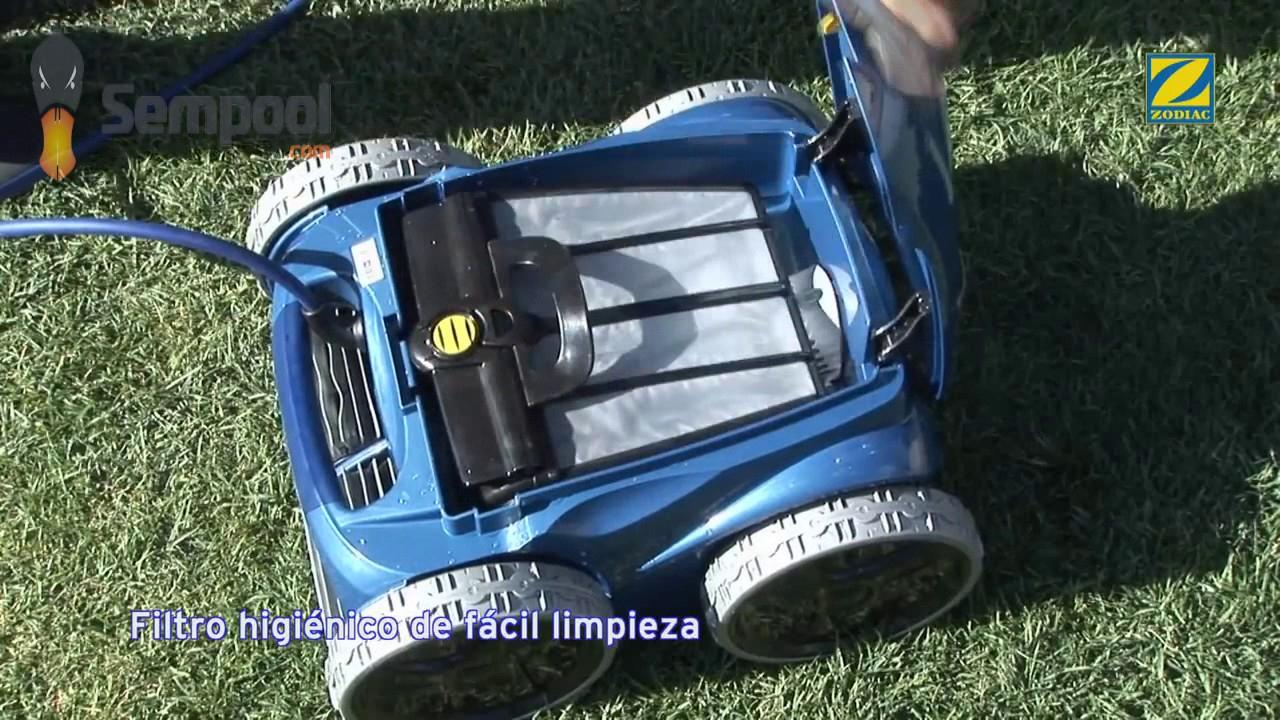 Limpiafondos Zodiac Vortex Rv 5400 4Wd pour Robot Piscine Zodiac Vortex 4