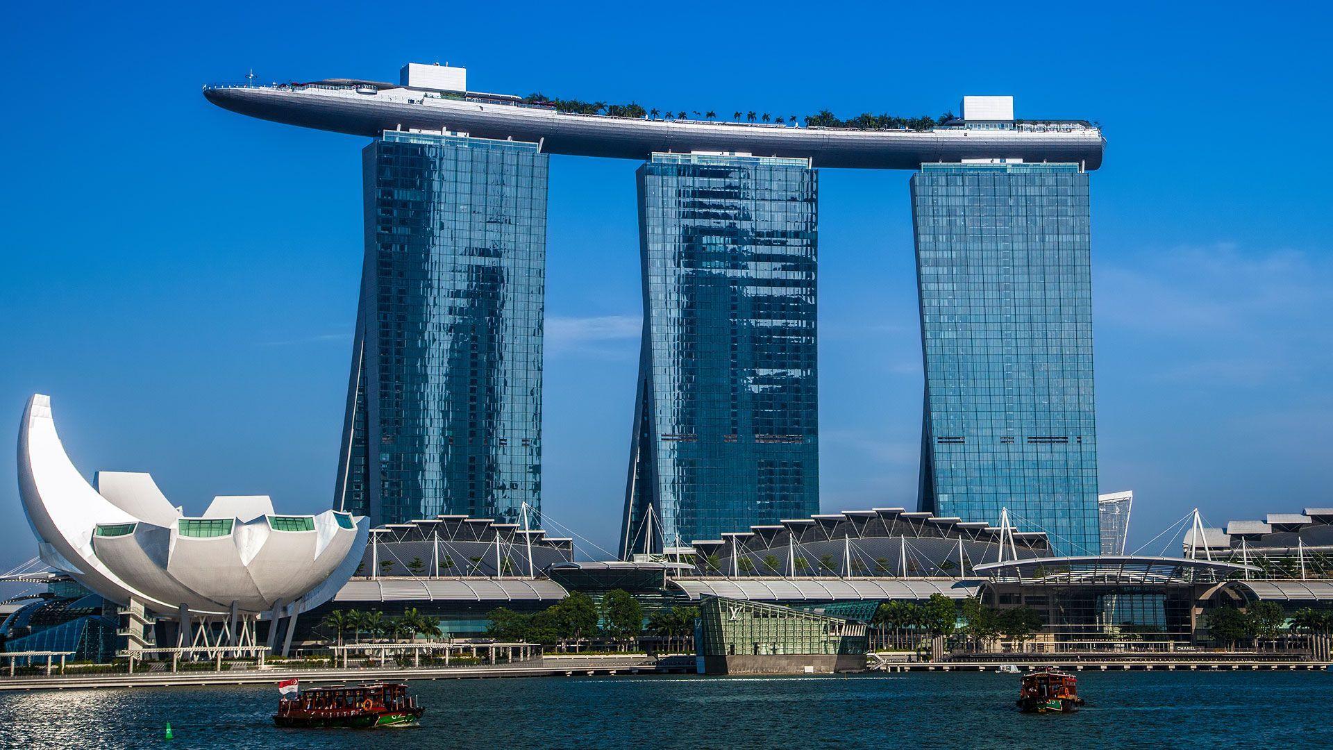 L'international Finance Center, Plus Haut Gratte-Ciel De ... encequiconcerne Piscine Singapour