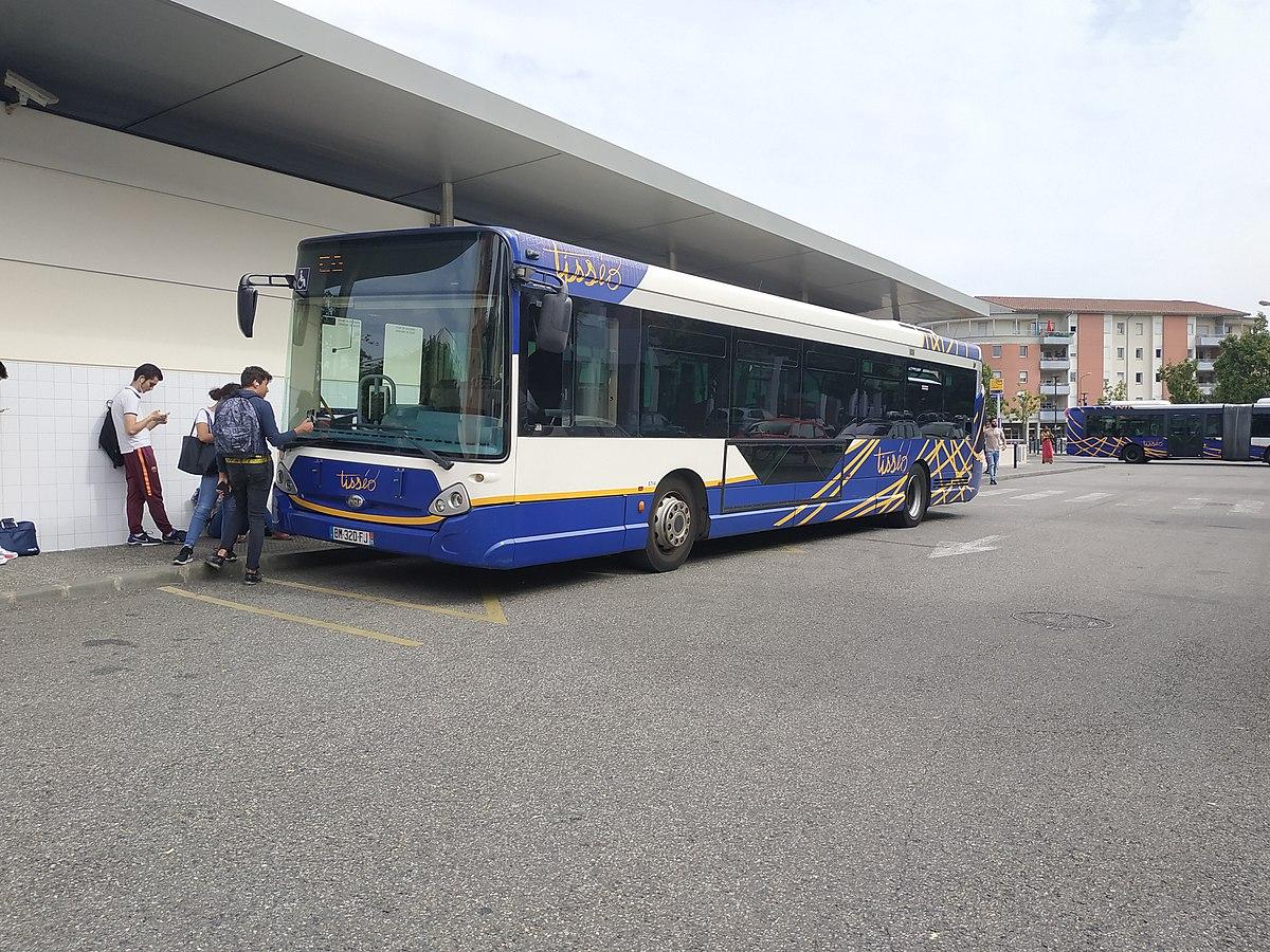 Liste Des Lignes De Bus De Toulouse — Wikipédia tout Centre Aquatique Des Hauts De Bayonne Piscine Bayonne