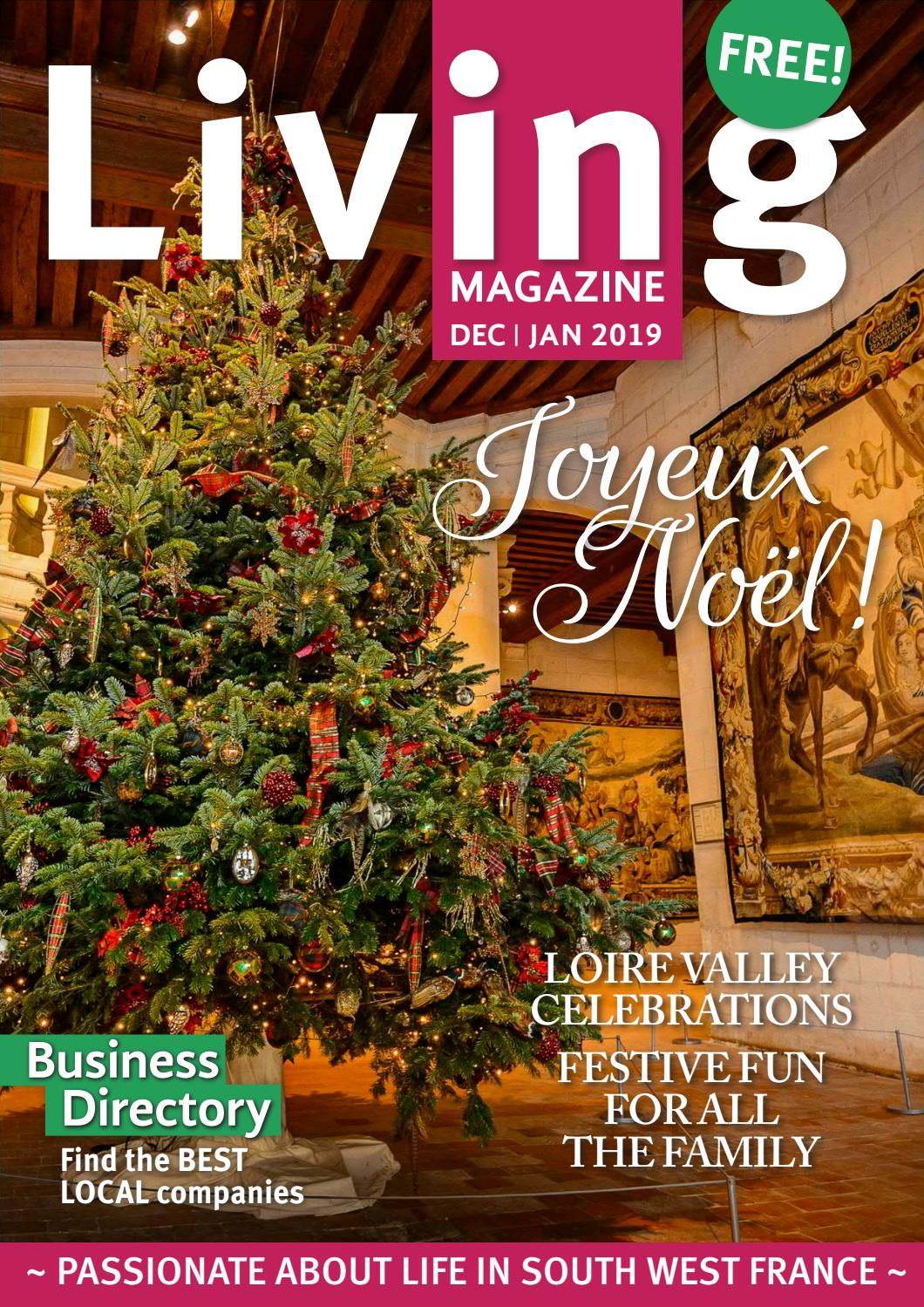 Living Magazine Dec 18 Jan 19 By Living Magazine - Issuu dedans Piscine Beaublanc