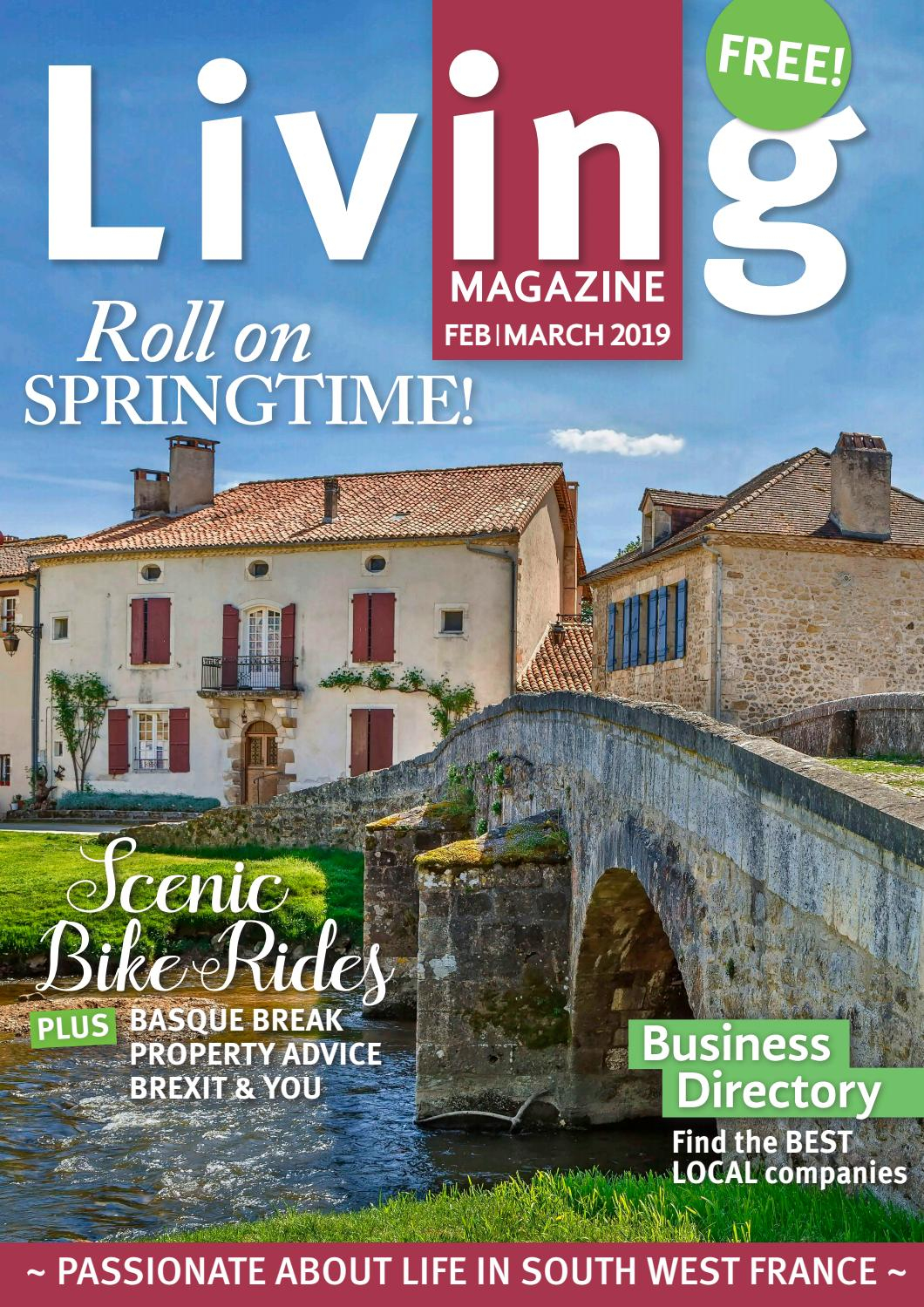 Living Magazine Feb/march 19 By Living Magazine - Issuu pour Piscine De Lencloitre