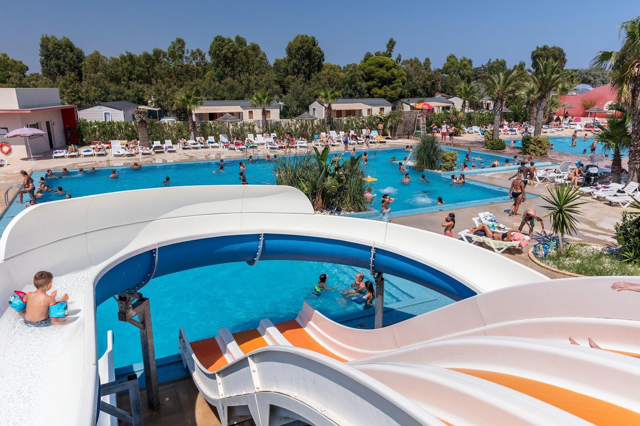 L'oasis & California **** avec Camping Bord De Mer Mediterranee Avec Piscine