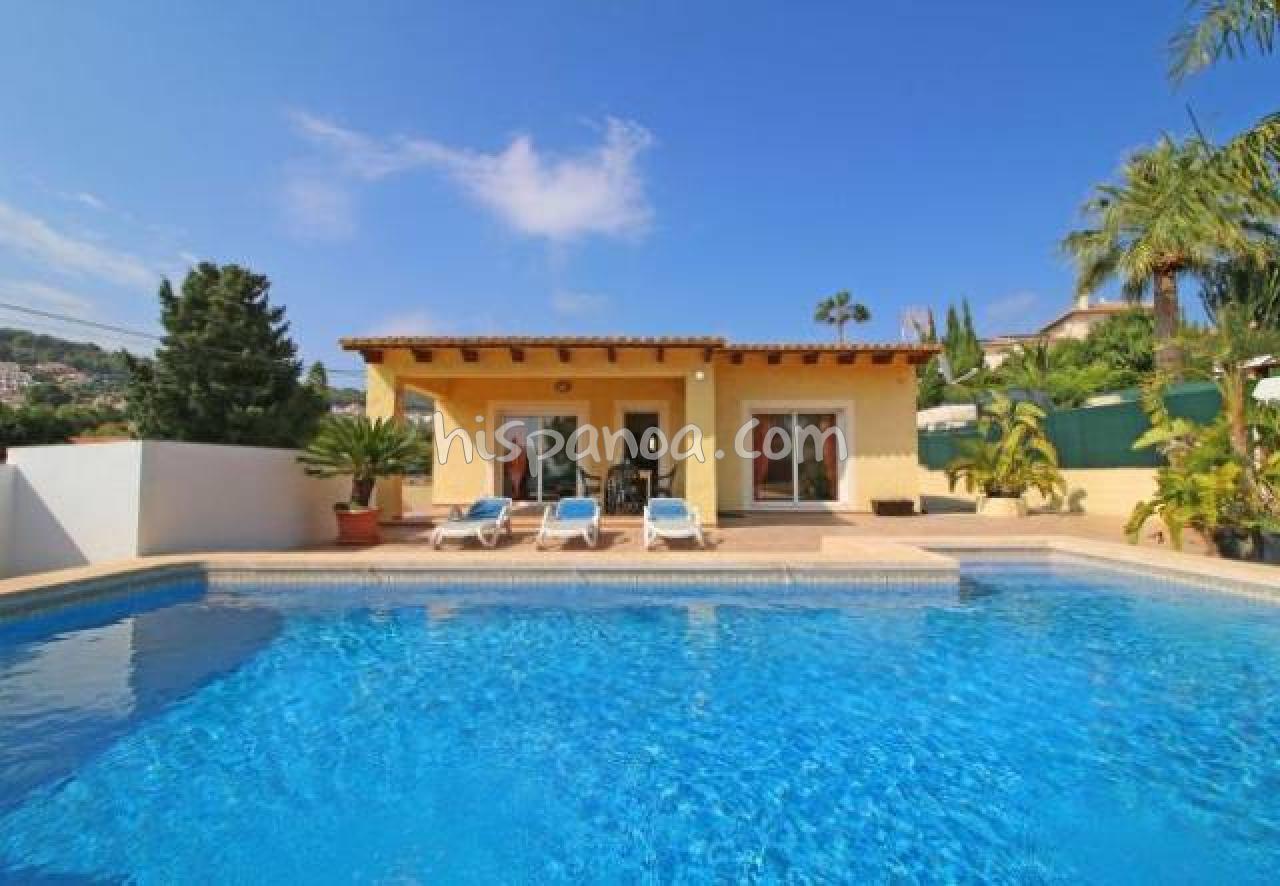 Location À Calpe Villa Climatisée Avec Piscine Pour 5 Pers ... dedans Location Villa Calpe Avec Piscine