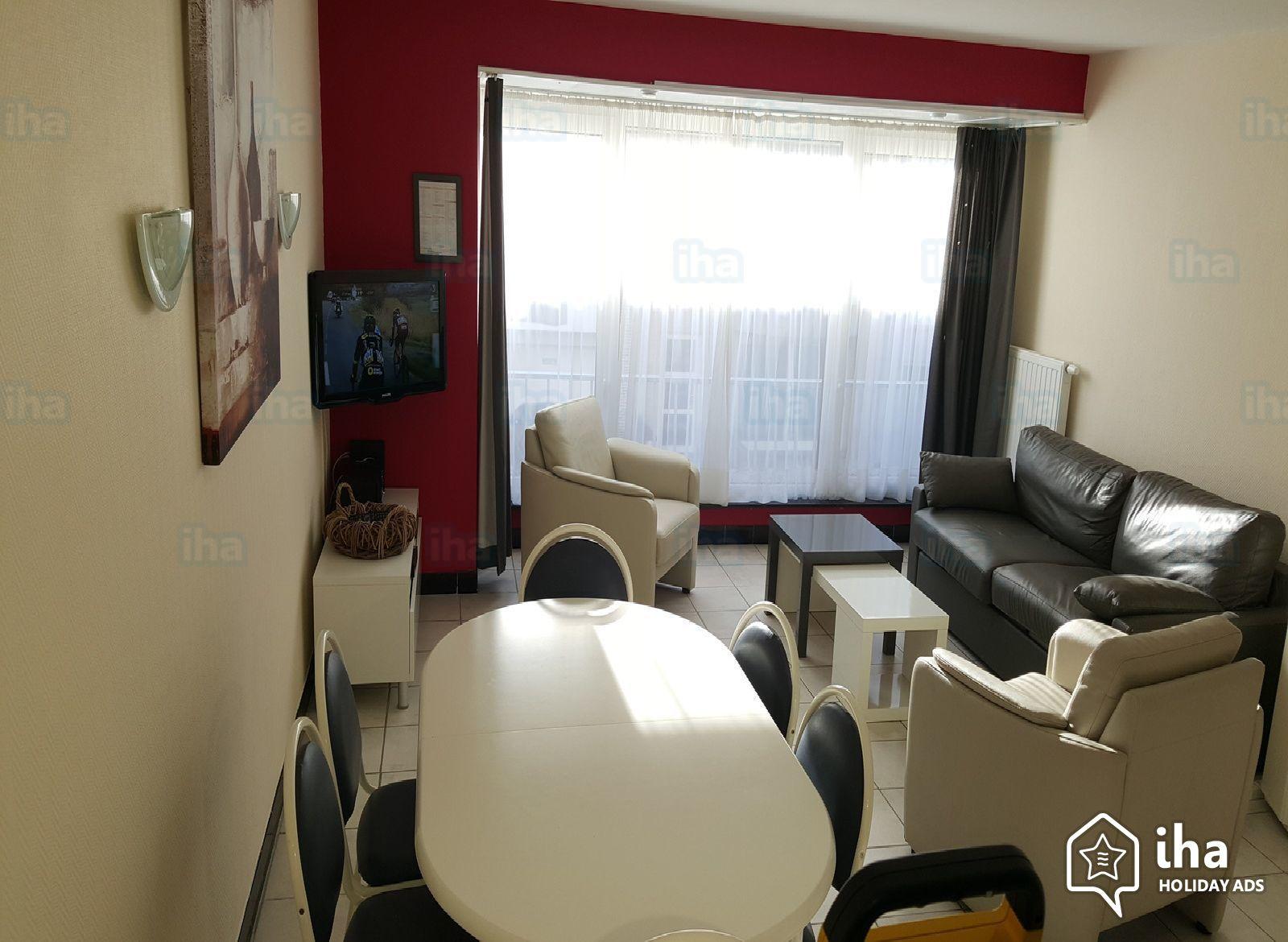 Location Appartement De 2 À 8 Personnes Avec 2 Chambres serapportantà Piscine Coxyde