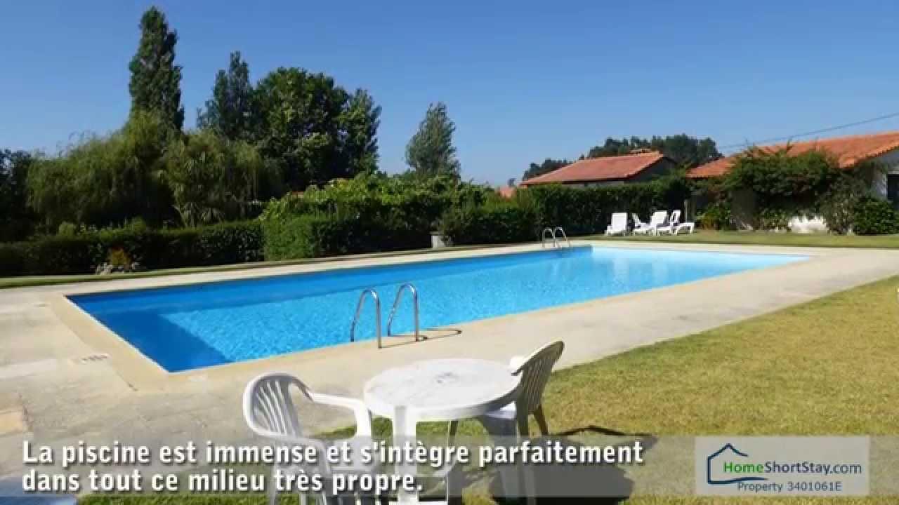 Location De Vacances Nord Du Portugal Avec Piscine Dans Une Ferme tout Location Maison Avec Piscine Portugal