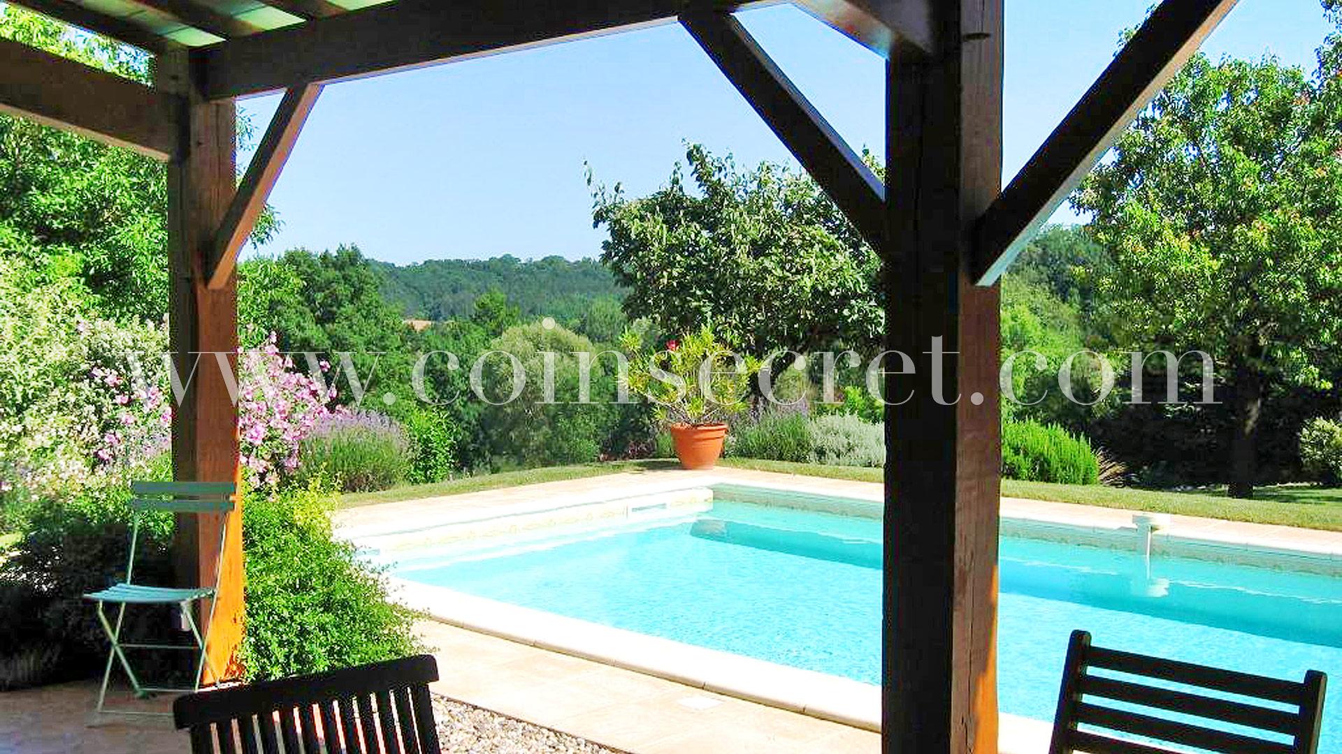 Location D'une Maison De Vacances Avec Piscine Près De ... intérieur Horaire Piscine Bergerac