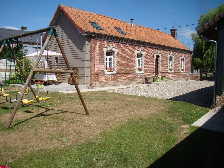 Location Gîte N°G201710, Gîte À Outrebois Dans La Somme destiné Piscine Doullens