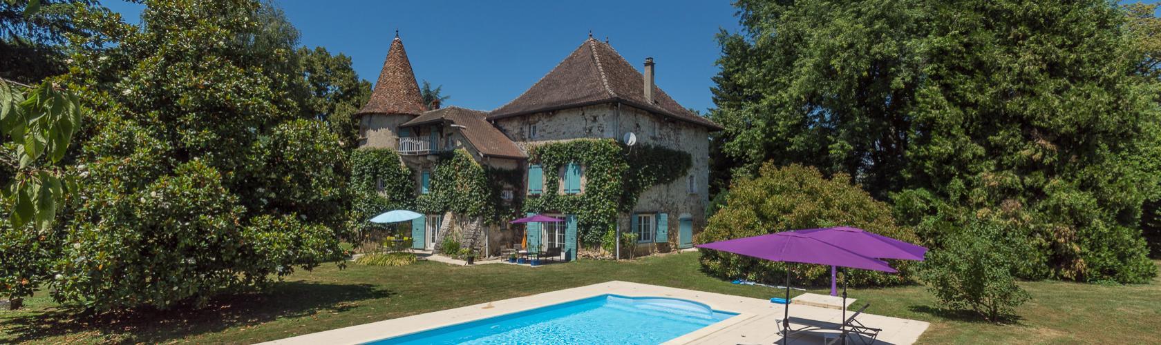 Location Gîtes Isère- Location Chambres D'hôte - Vacances ... destiné Piscine Les Abrets