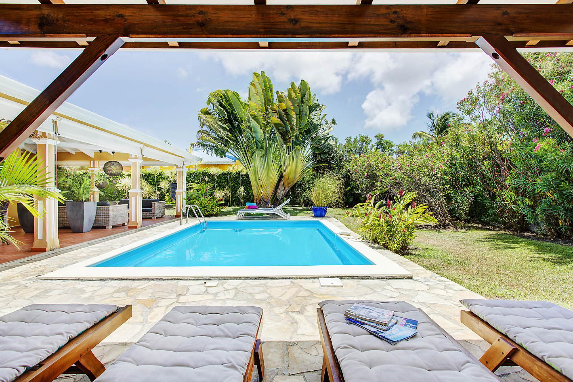 Location Guadeloupe - Villa De Standing Avec Piscine destiné Piscine Saint Francois