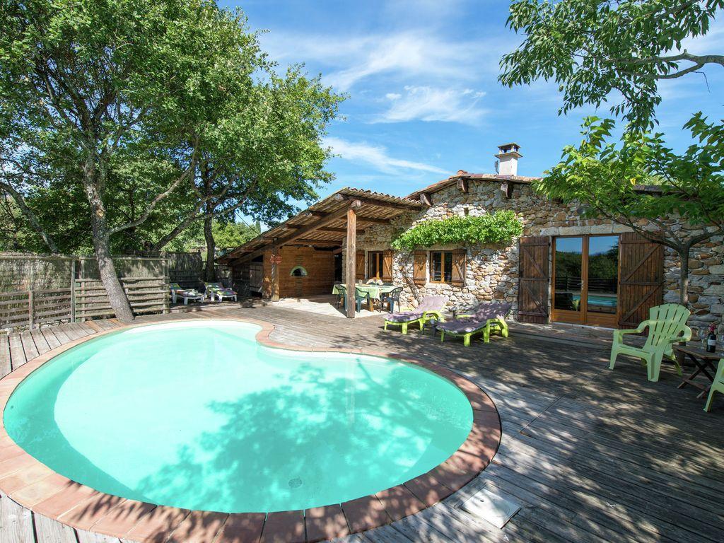 Location Maison Ardeche à Vacances En Ardèche Avec Piscine