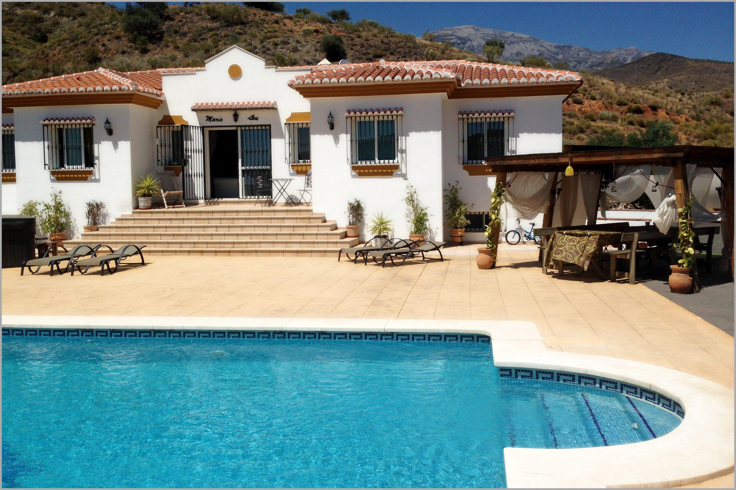 Location Maison Avec Piscine Sans Vis A Vis Espagne ... pour Villa En Espagne Avec Piscine
