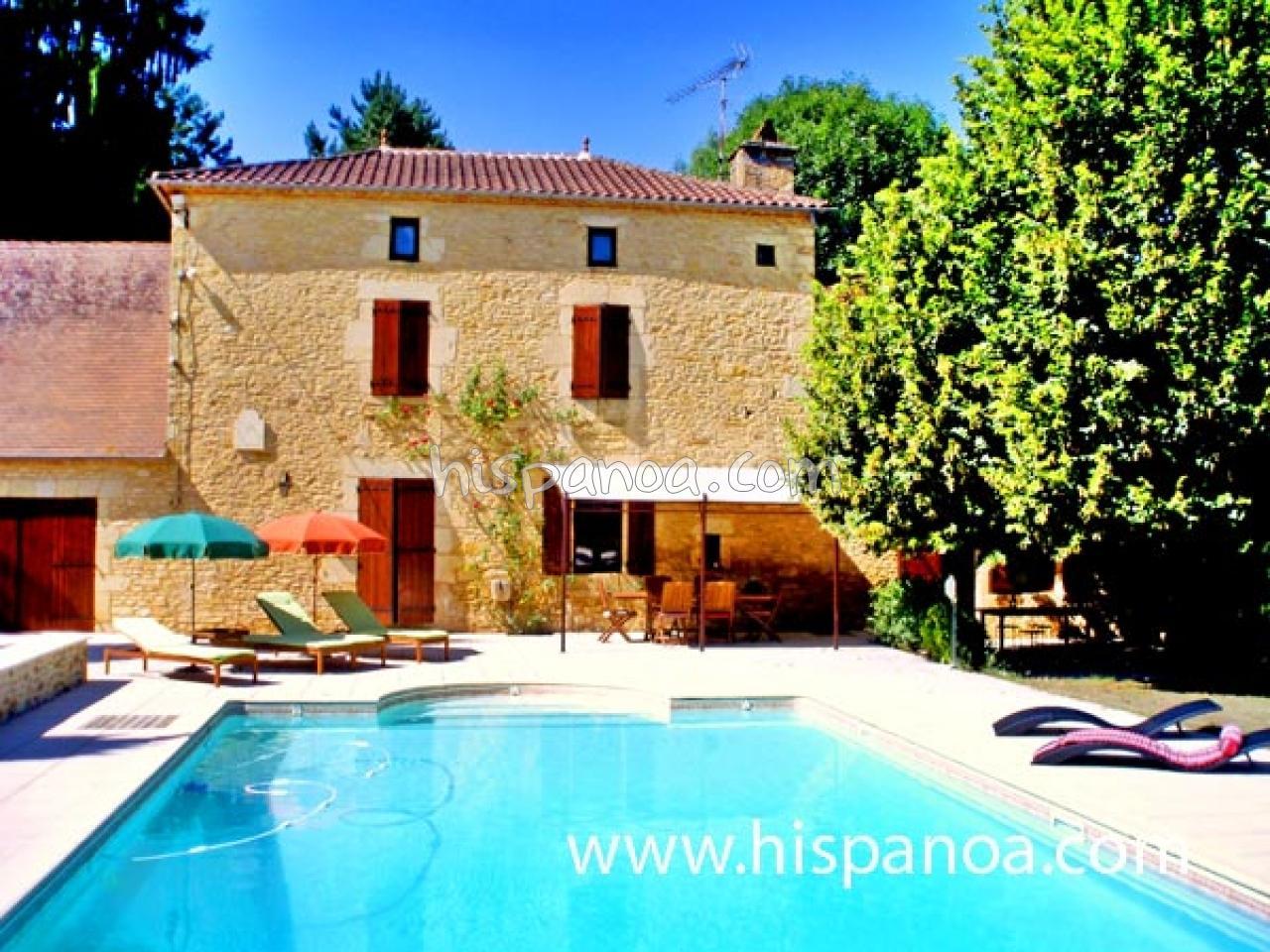 Location Maison En Dordogne, Maison Avec Piscine Dans Le ... serapportantà Location Dordogne Piscine