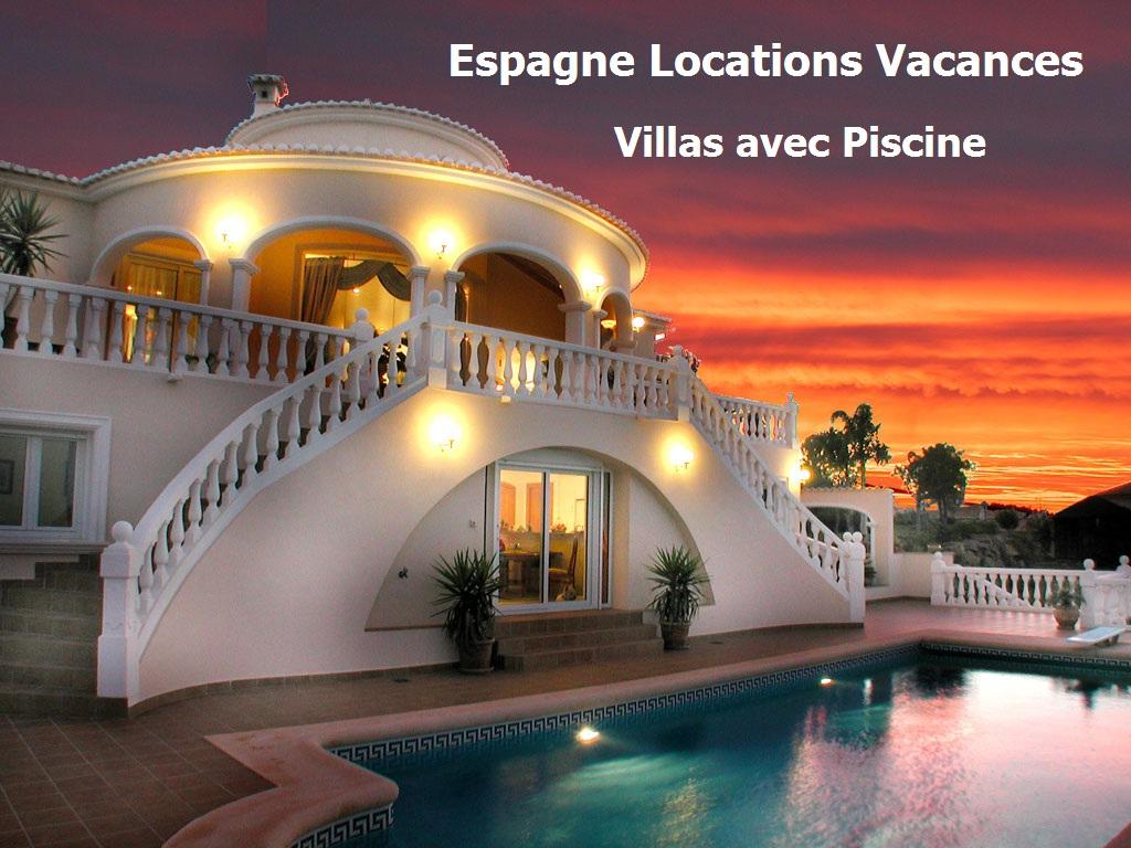 Location Maison Espagne Bord De Mer | Location Espagne Villa destiné Villa En Espagne Avec Piscine