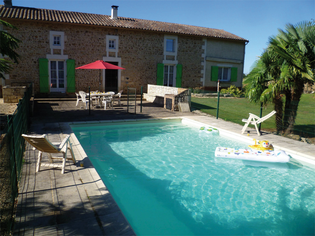 Location Vacances Gîte Valence En Poitou Vienne Gîtes De France avec Piscine De Vienne