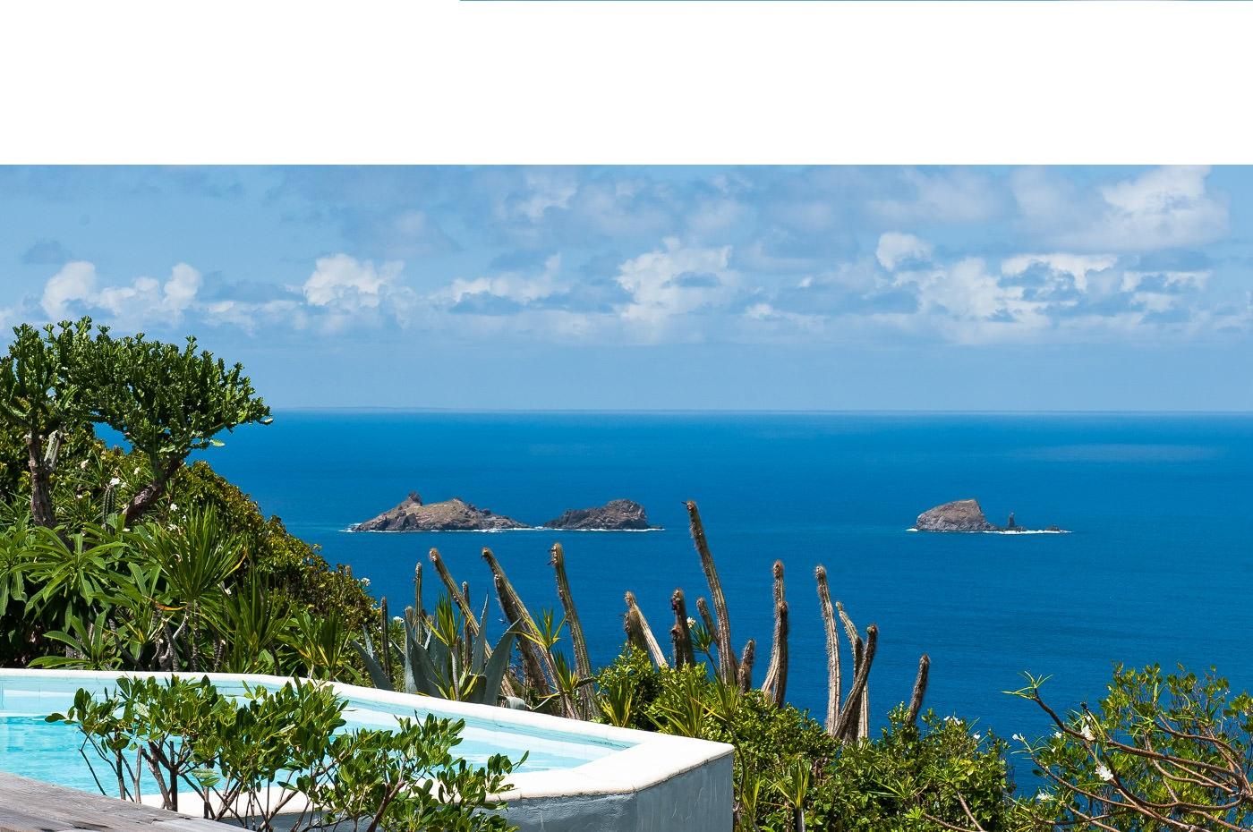 Location Vacances St Barthélémy - Villa De Luxe Avec Piscine Privée Et Vue  Mer À St Barth - Colombier - Caraibes - Antilles Françaises avec Piscine Du Colombier