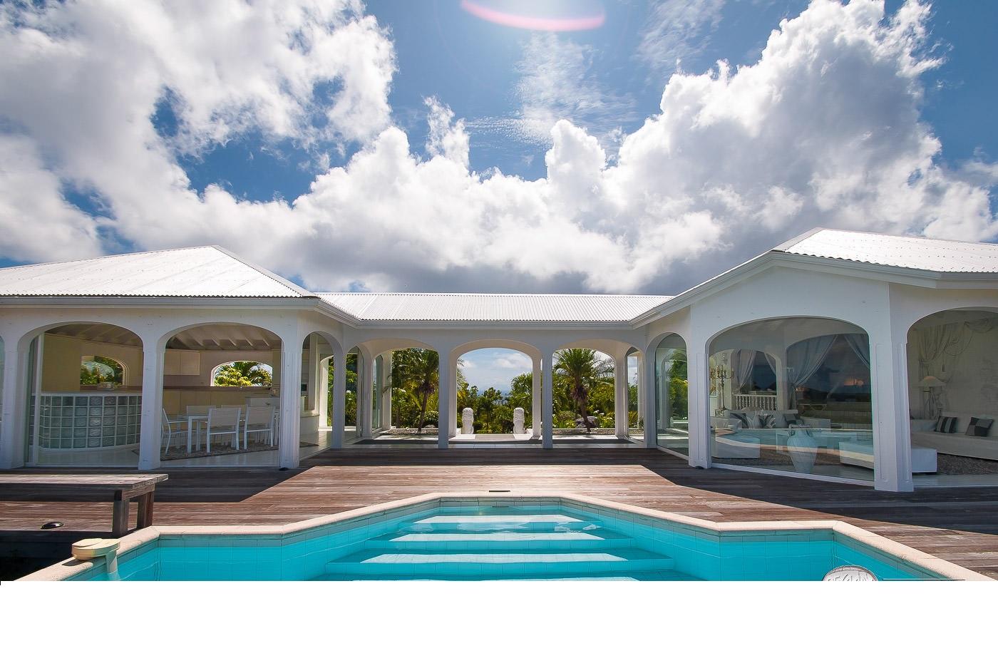 Location Vacances St Barthélémy - Villa De Luxe Avec Piscine Privée Et Vue  Mer À St Barth - Colombier - Caraibes - Antilles Françaises serapportantà Piscine Du Colombier