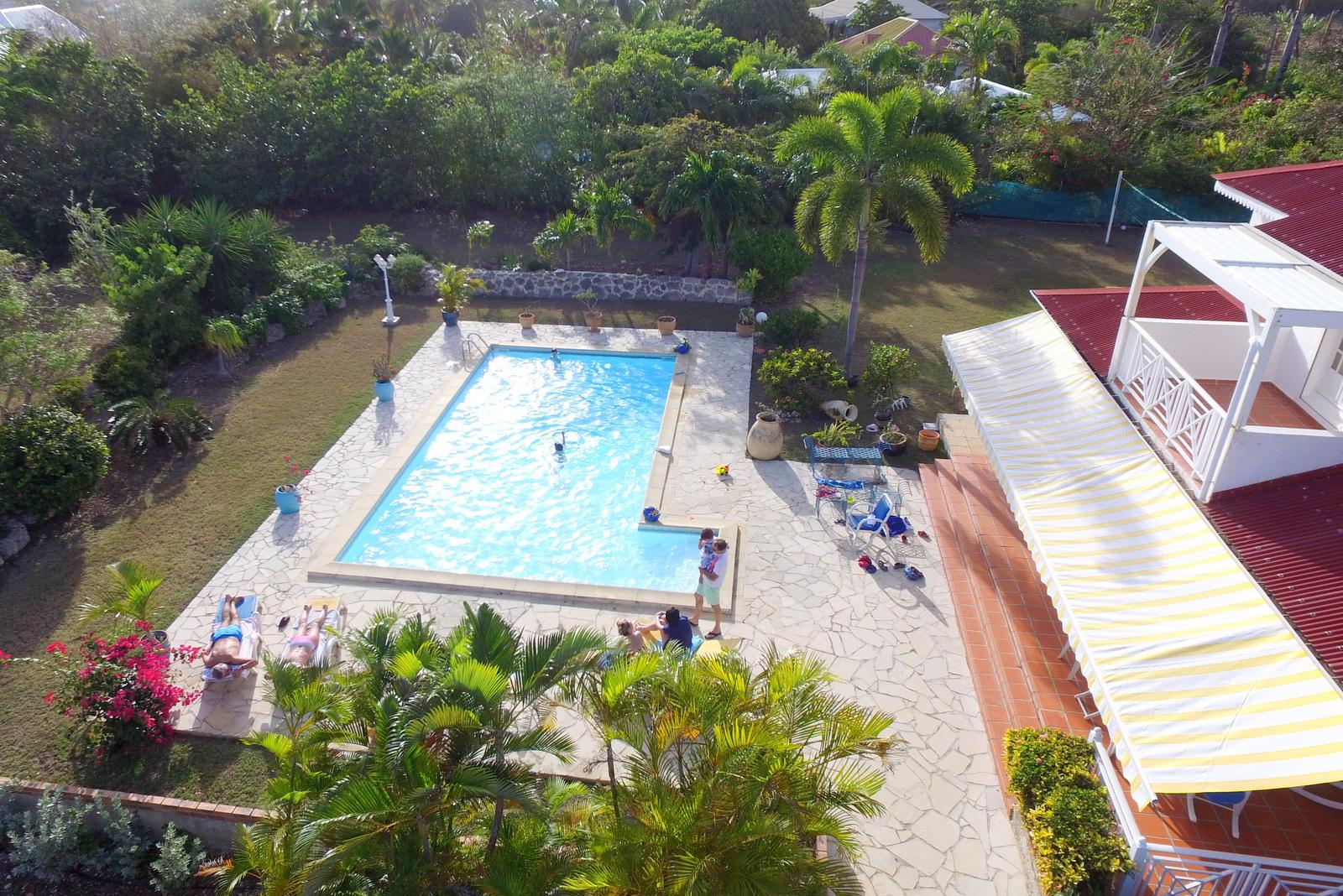 Location Vacances Villa Saint-François Antilles Guadeloupe à Piscine Saint Francois