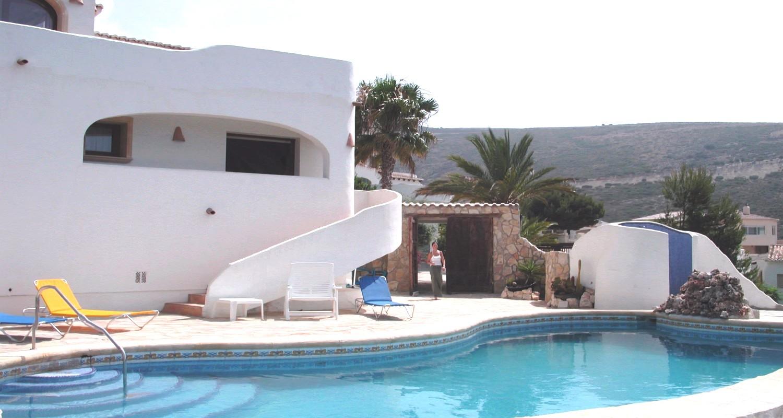 Location Villa Benissa-Moraira : Villa Avec Piscine Privée pour Location Villa Espagne Avec Piscine Privée