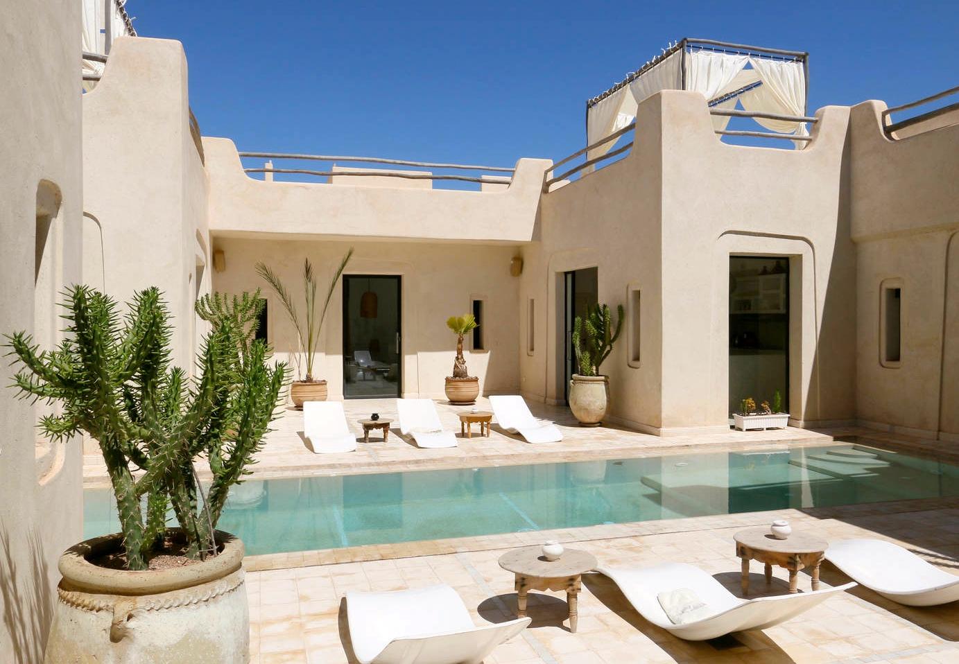 Location Villa Piscine Privée Marrakech - Bienailleurs ... encequiconcerne Location Maison De Vacances Avec Piscine Privée