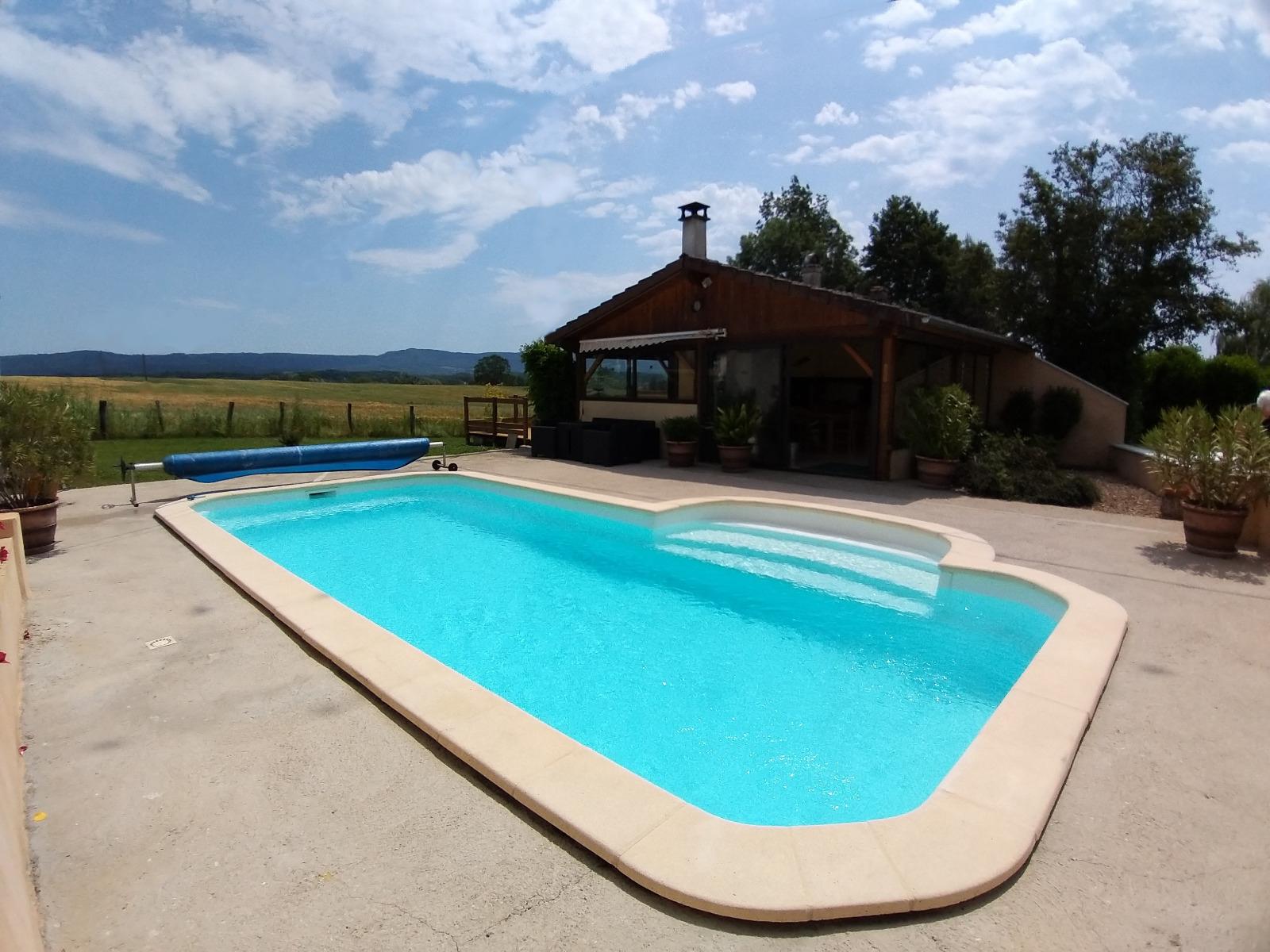 Lons-Le-Saunier (39 Jura), À Vendre Maison Individuelle 136 ... avec Piscine Lons Le Saunier