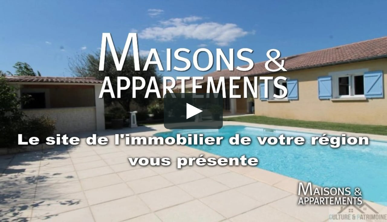 Loriol Sur Drome - Maison A Vendre - 249 000 € - 116 M² - 6 Pièces serapportantà Piscine Loriol