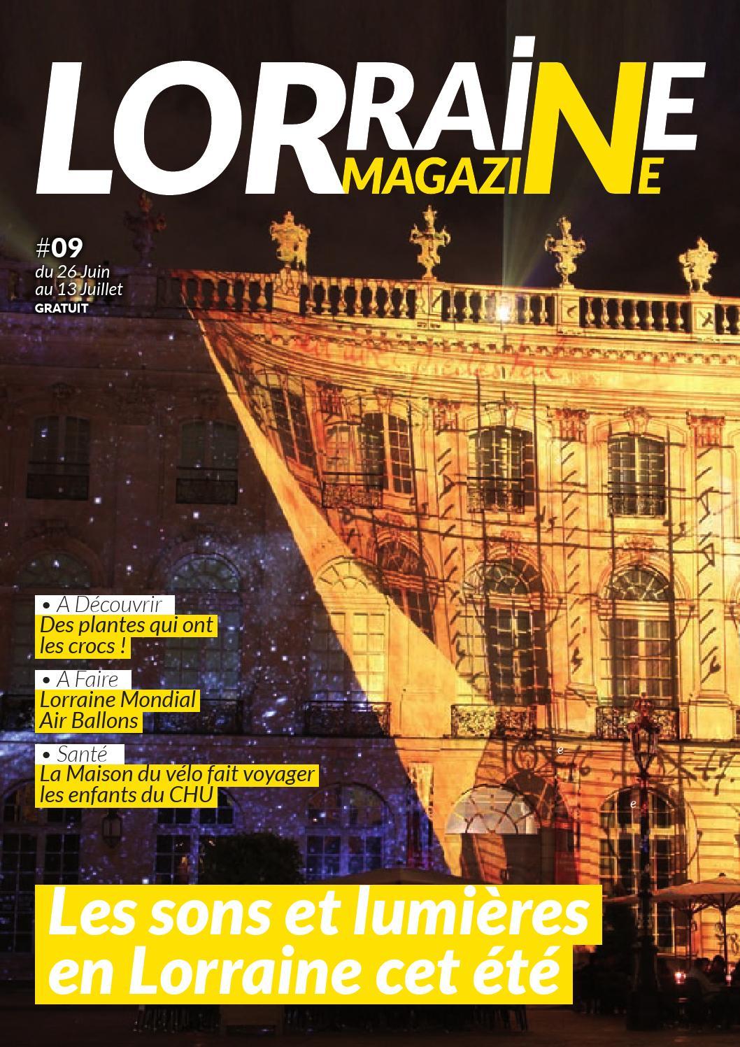 Lorraine Magazine #09 By Lorraine Magazine - Issuu tout Piscine Ecrouves