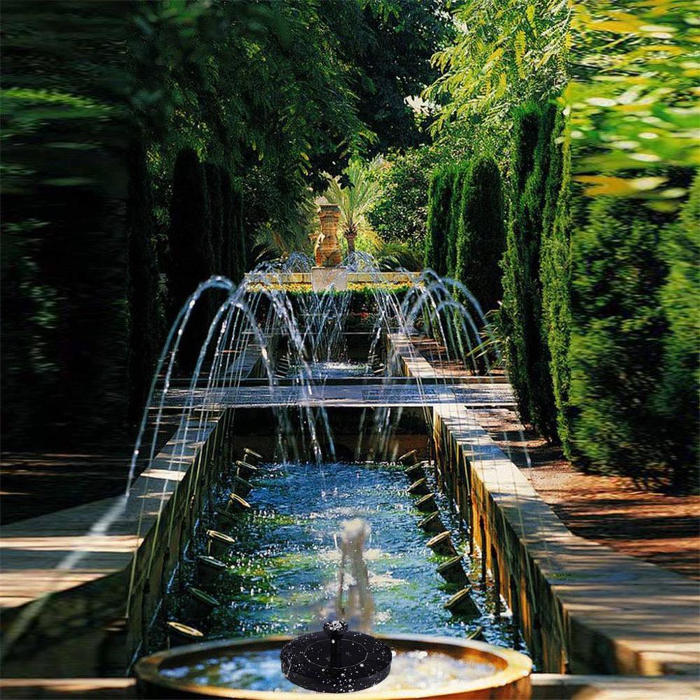 Low Price Fontaine Solaire Fontaine À Eau Solaire Jardin ... encequiconcerne Fontaine De Piscine