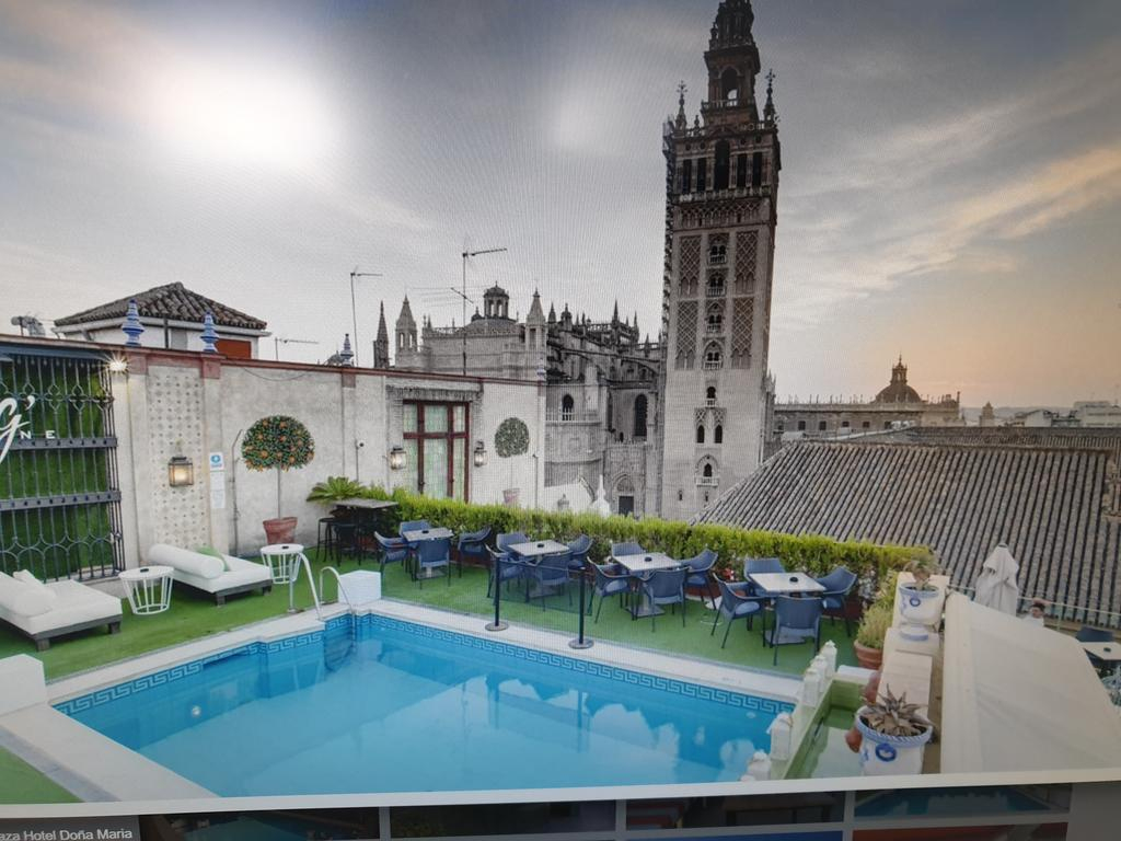 Lujoso Apartamento A Los Pies De La Giralda (İspanya Sevilla ... encequiconcerne Hotel Seville Piscine