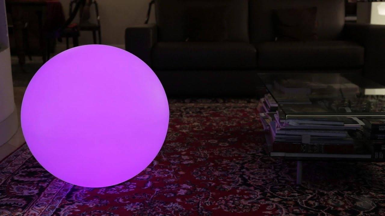 Lumisky Boules Objets Lumineux Led Rgb Wifi dedans Boule Lumineuse Piscine
