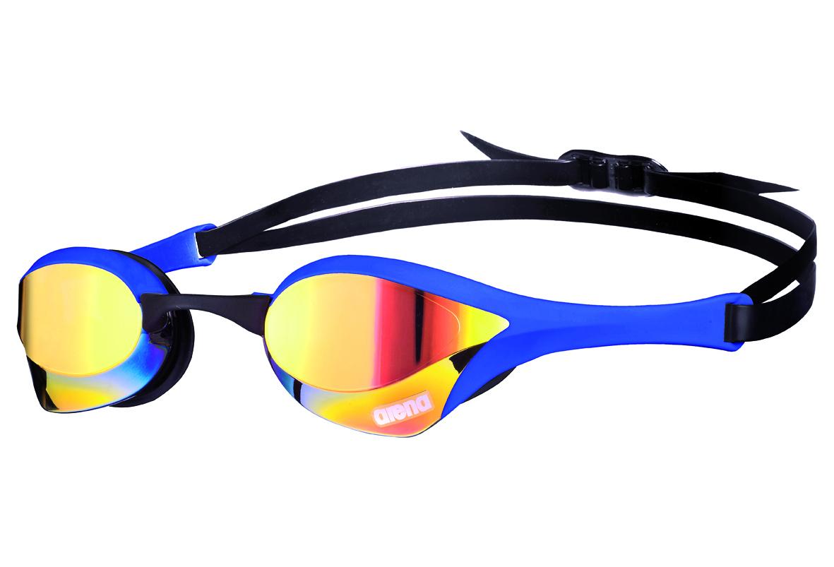Lunettes De Natation Arena Cobra Ultra Mirror Bleu encequiconcerne Lunette De Piscine