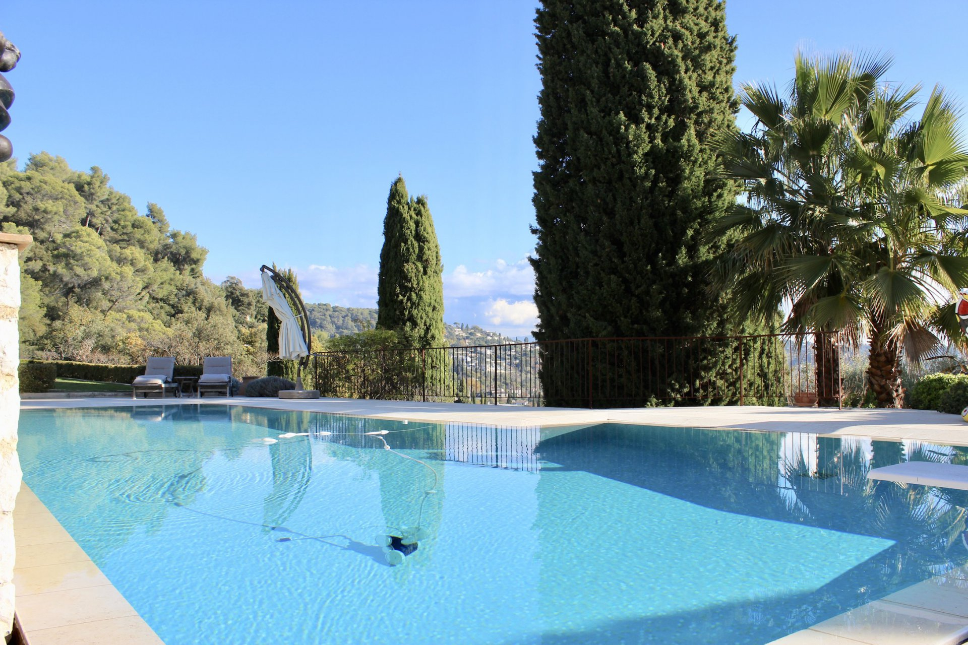 Luxurious Villa With Pool And Guesthouse Perched Above St ... encequiconcerne Piscine La Cote St Andre
