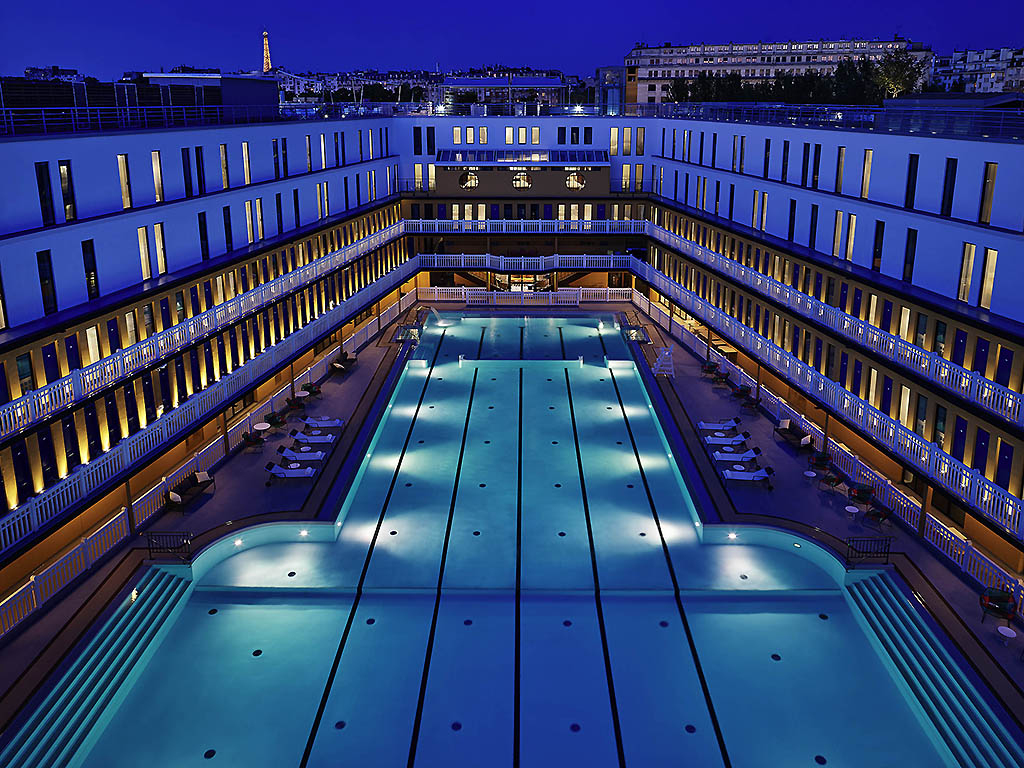 Luxury Hotel Paris – Hotel Molitor Paris-Mgallery intérieur Restaurant Piscine Molitor