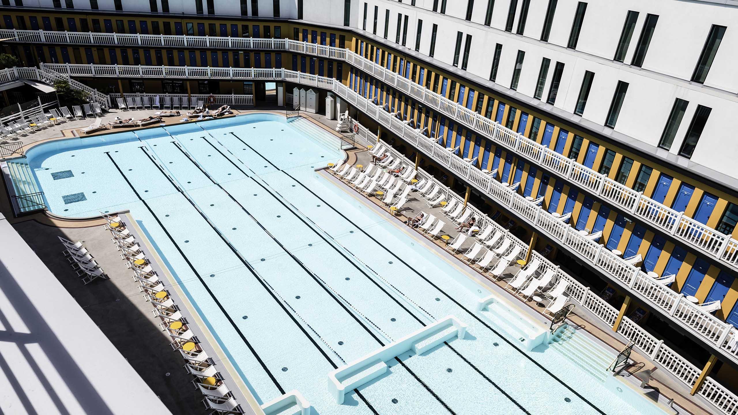 Luxury Hotel Paris – Hotel Molitor Paris-Mgallery pour Hotel Avec Piscine Paris
