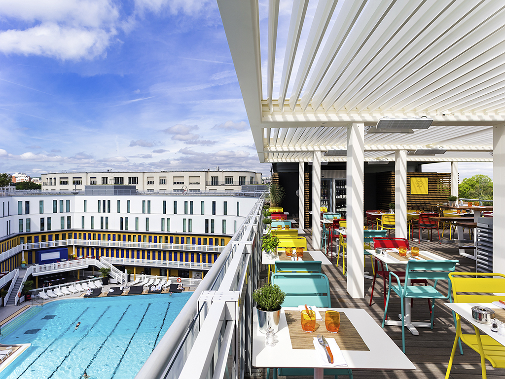 Luxury Hotel Paris – Hotel Molitor Paris-Mgallery pour Piscine Molitor Restaurant