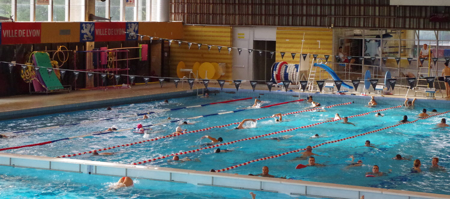 Lyon 9E | Piscine De Vaise : Plongeon Dans L'économie D'énergie dedans Piscine De Vaise