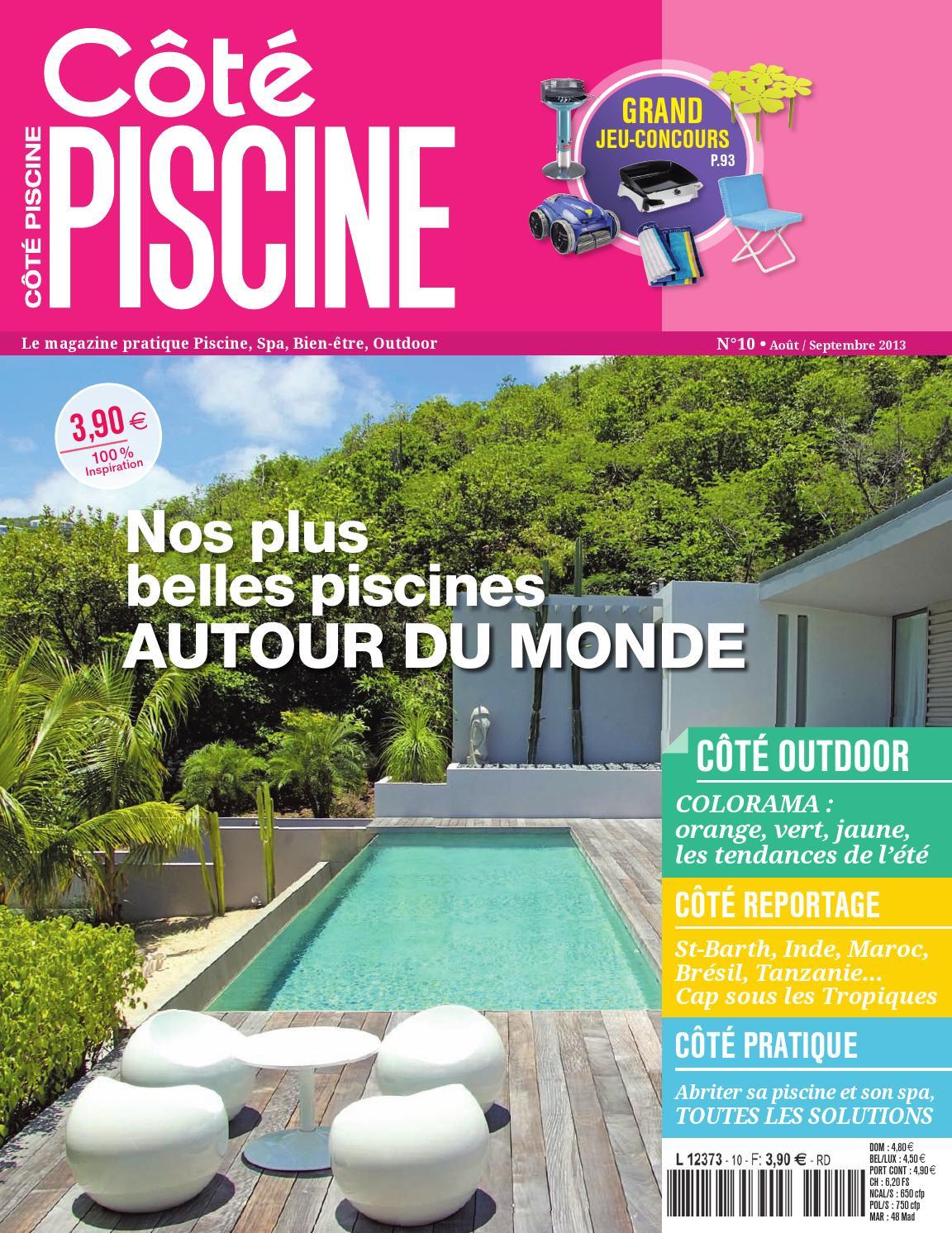 Magazine Côté Piscine N°10 By Poulin Athy - Issuu pour Piscine Brignais