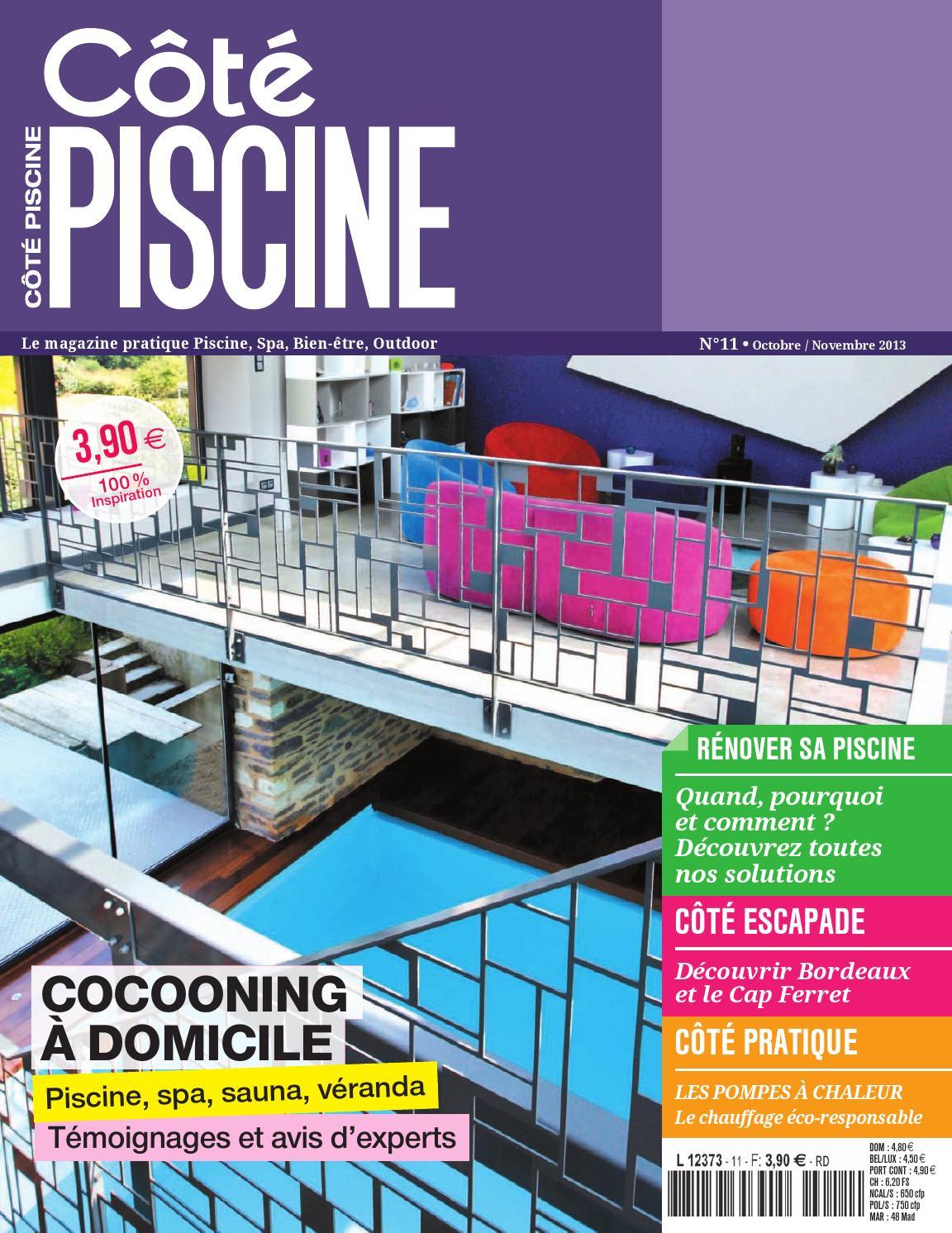 Magazine Côté Piscine N°11 By Poulin Athy - Issuu destiné Piscine Brignais