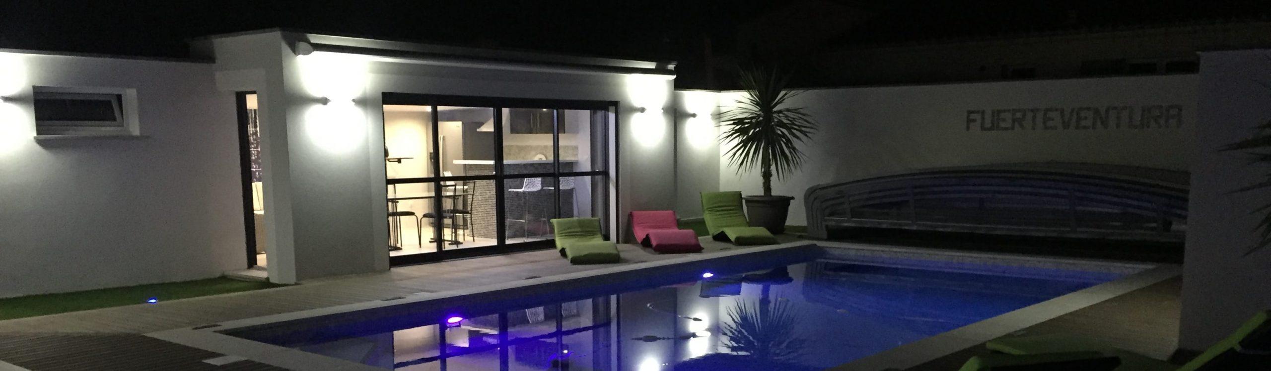 Magnifique Rénovation D'une Villa Dans Un Style Contemporain ... pour Piscine Lunel