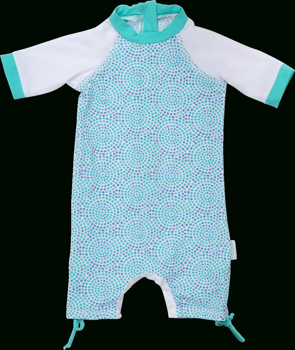 Maillot De Bain Anti Uv Bébé Fille Mozaica avec Combinaison Piscine Bébé