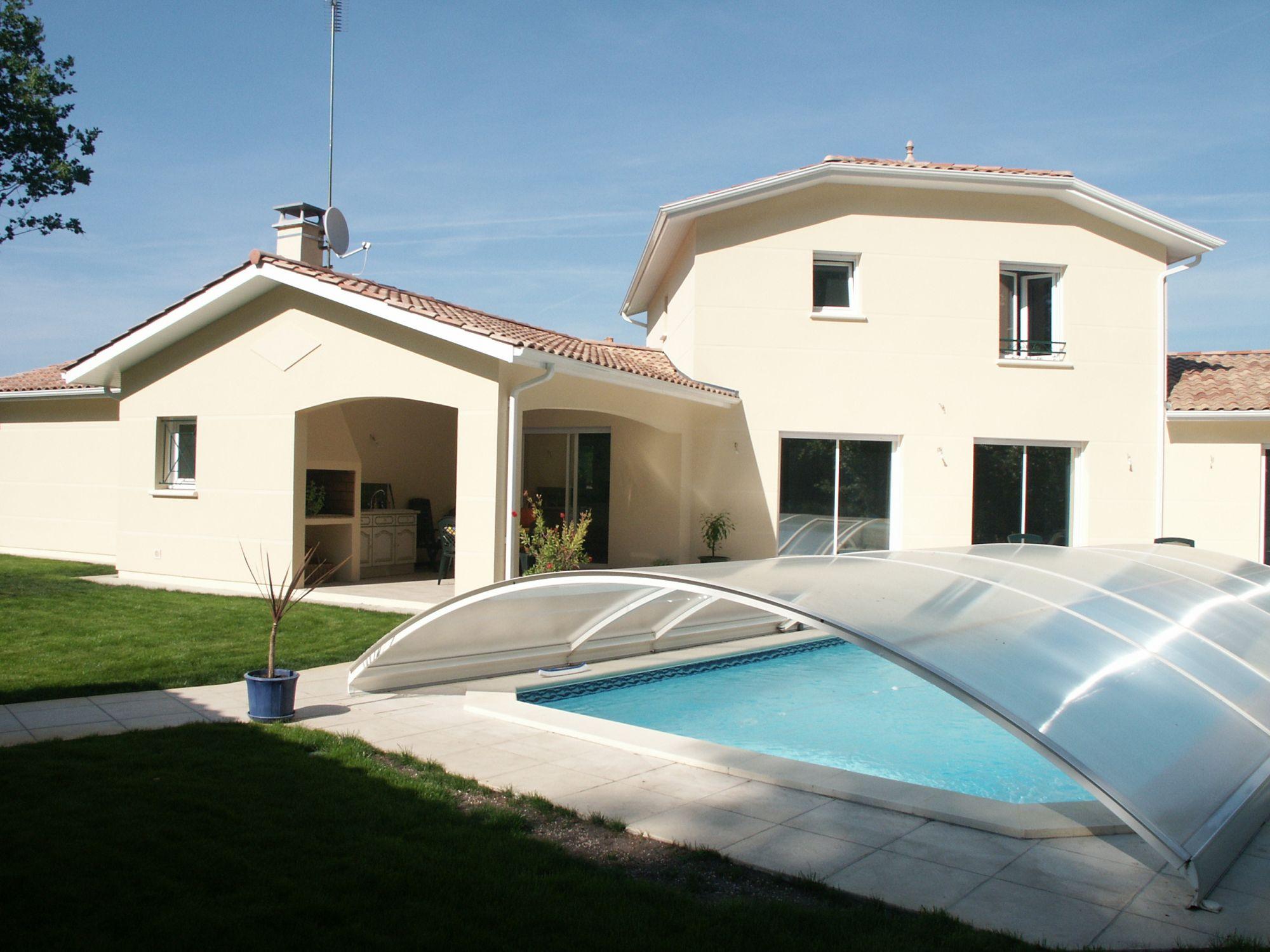 Maison 160M², 4 Chambres Sur 1000M² Avec Piscine Cestas ... à Piscine Cestas