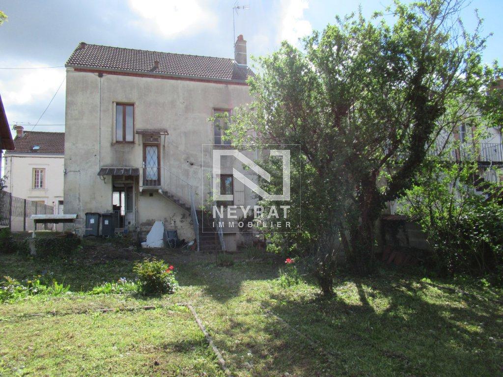 Maison A Vendre - Montceau Les Mines Centre Ville - 157 M2 ... encequiconcerne Piscine Montceau Les Mines