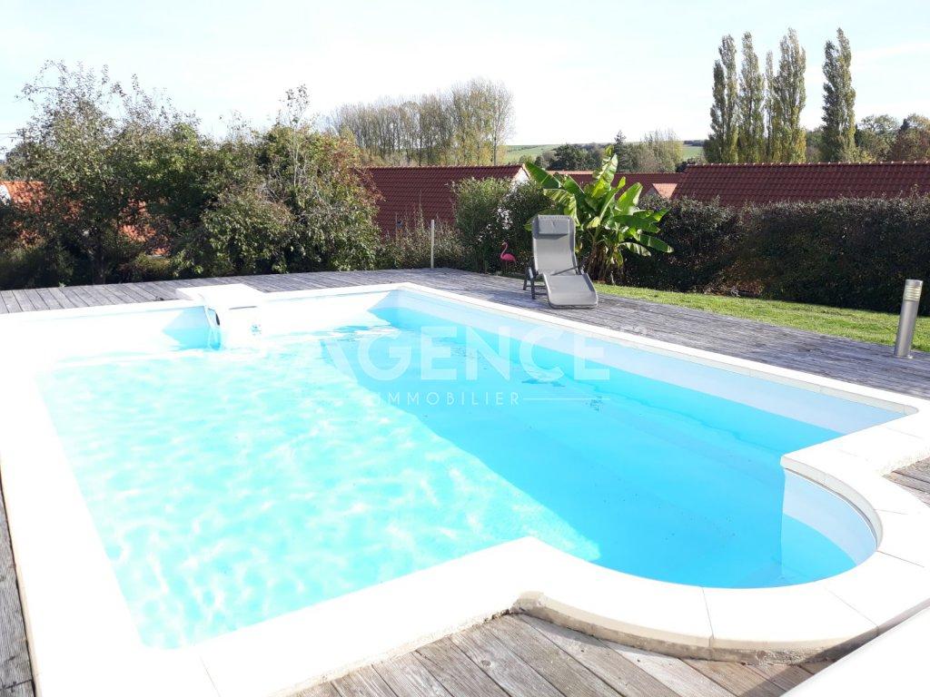 Maison A Vendre - Nielles Les Blequin - 142 M2 - 249 600 ... à Piscine De Lumbres