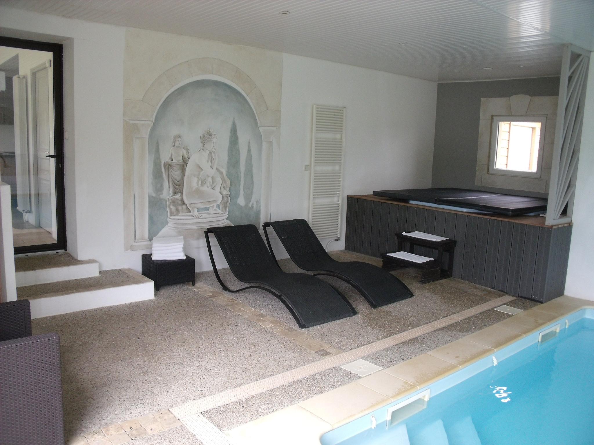Maison Avec Piscine Interieure Couverte Chauffee Roque ... à Location Maison Avec Piscine Intérieure Et Jacuzzi