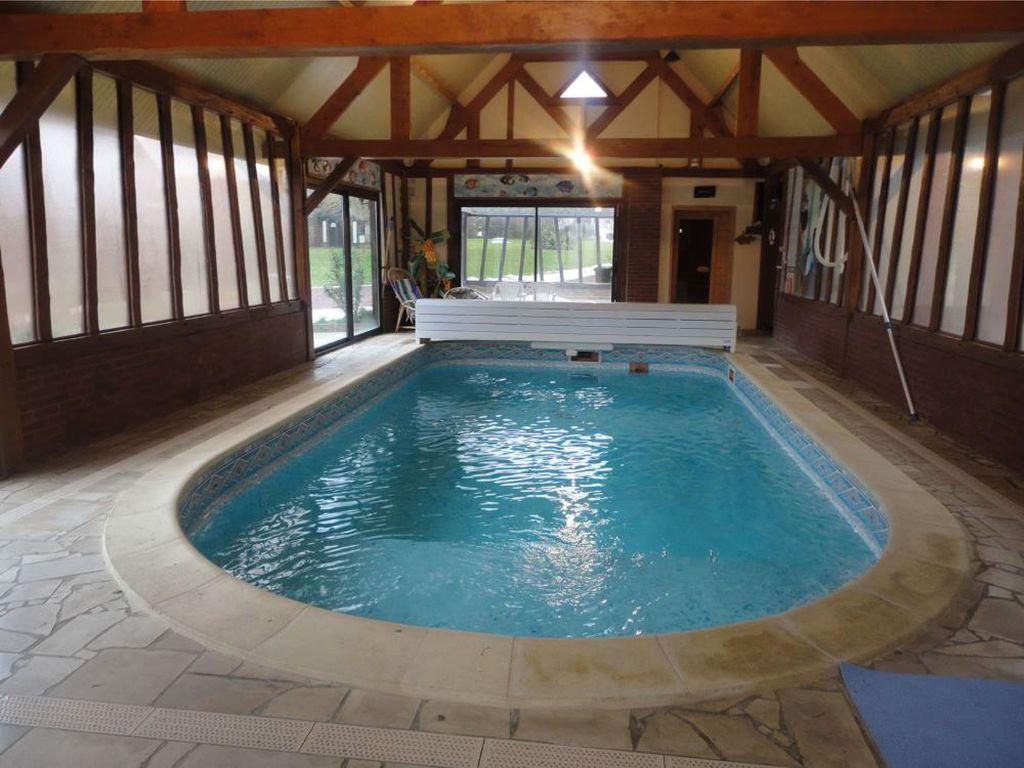 Maison De Charme Avec Piscine, Sauna, Jacuzzi Et Grand Parc Arboré -  Broquiers destiné Location Maison Avec Piscine Intérieure Et Jacuzzi